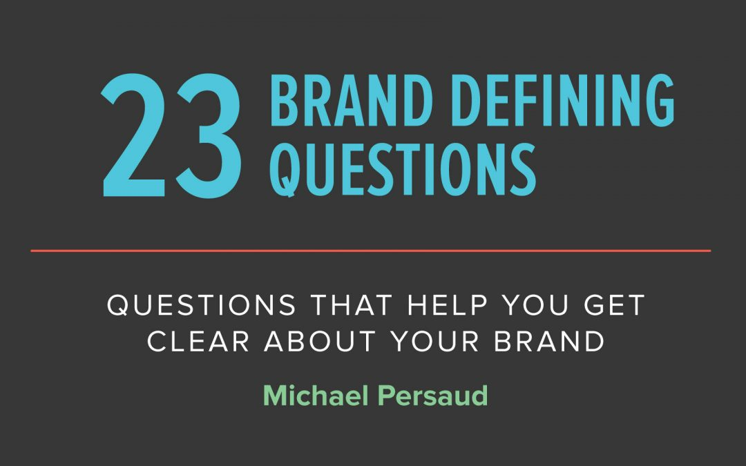23 Questions To Build Your Church's Brand